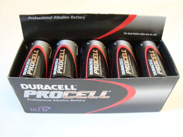 Duracell Procell D Cell Professional Batteries (Pack of 10)
