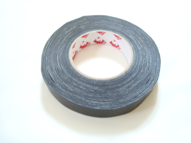"Scapa 1"" Black Gaffer Tape, Cloth Tape, Duct Tape"