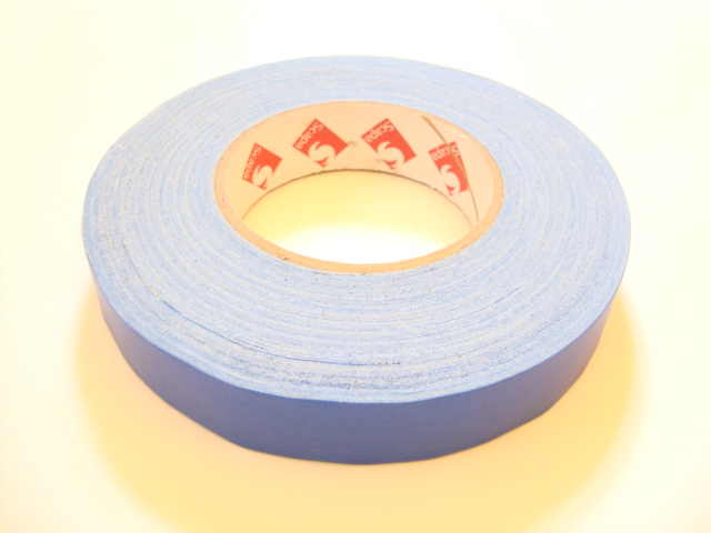 "Scapa 1"" Blue Gaffer Tape, Cloth Tape, Duct Tape"