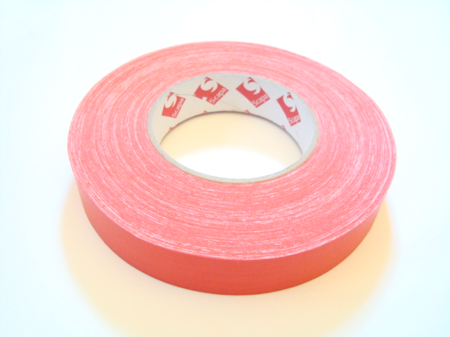 "Scapa 1"" Red Gaffer Tape, Cloth Tape, Duct Tape"