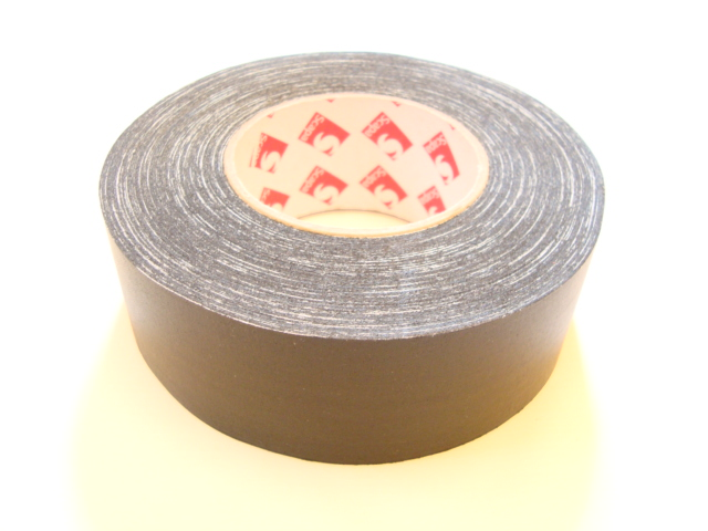 "Scapa 2"" Black Gaffer Tape, Cloth Tape, Duct Tape"