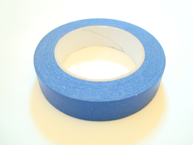 "Paper Tape 1"" Blue"