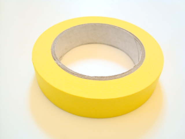 "Paper Tape 1"" Yellow"