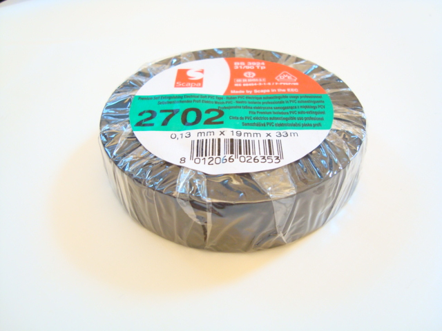 Insulating Black Electrical Tape