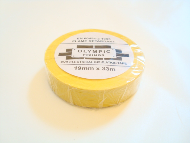 Insulating Yellow Electrical Tape