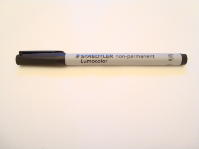 Staedtler Lumocolor Non-Permanent Pen (Black)