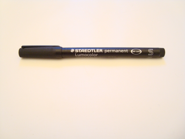Staedtler Lumocolor Permanent Pen (Black)