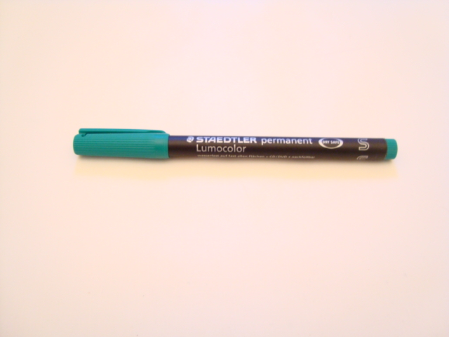 Staedtler Lumocolor Permanent pen (Green)
