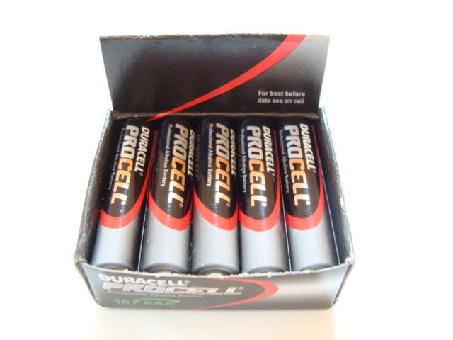 Duracell Procell AAA Professional Batteries (Pack of 10)