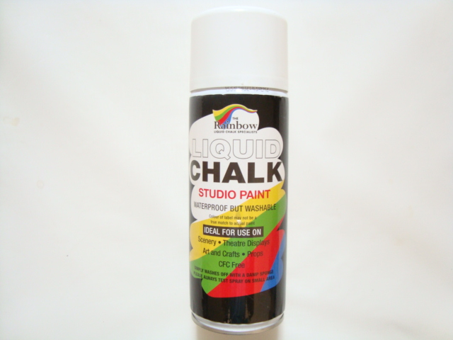 Chalk Spray (Red)