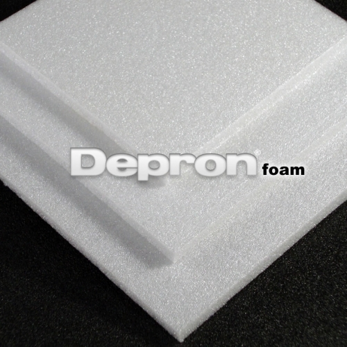 Depron 3mm Rigid Foam - White