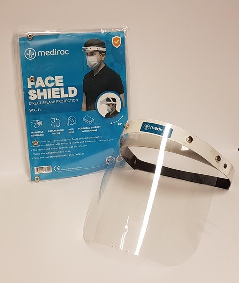 Face Shield (Direct Splash Protection)