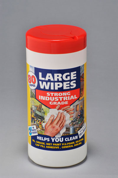 Heavy Duty Wet Wipes