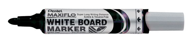 Pentel Maxiflo White Board Marker (Bullet Tip) - Click Image to Close