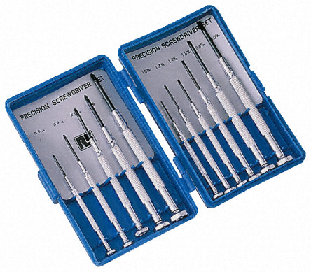 Jewellers Screwdriver 11-Piece set