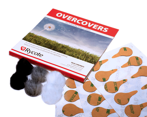 Rycote Overcovers (6 Reusable Furries + 30 Stickies)