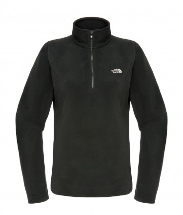 The North Face 100 Glacier 1/4 Zip Microfleece (Womens)