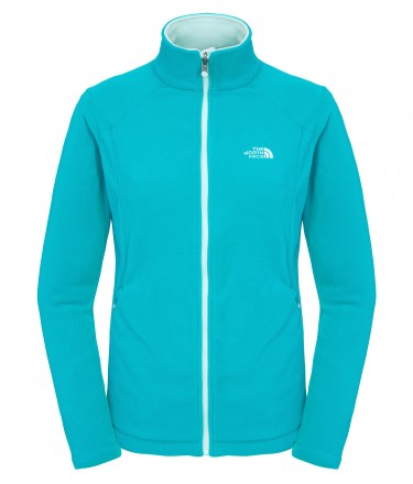 The North Face 100 Glacier Full Zip Microfleece (Womens)