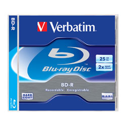 VERBATIM BLU-RAY BD-R 25GB RECORDABLE