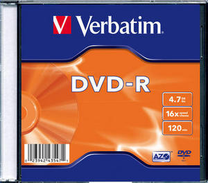 Verbatim DVD-R Inkjet Printable (Jewel Case)