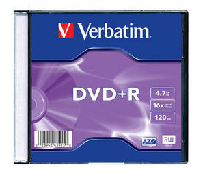 Verbatim DVD+R Inkjet Printable (Jewel Case)