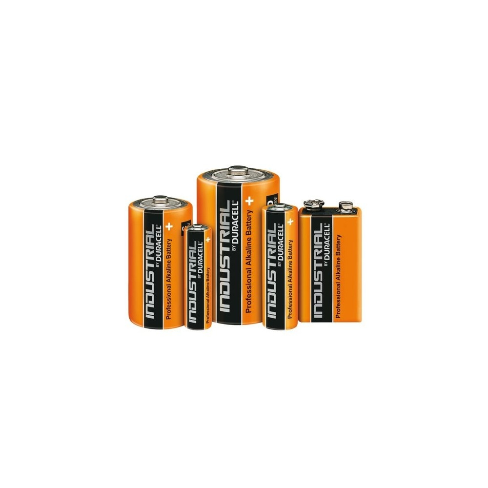 Duracell Industrial D Cell Professional Batteries (Pack of 10)