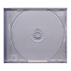 CDR Jewel Case Clear Tray 10mm