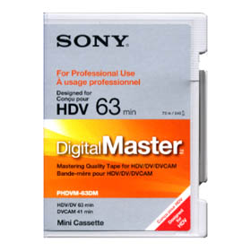 Sony PHDVM63DM Digital Master (PROFESSIONAL)