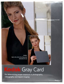 Kodak Grey Card