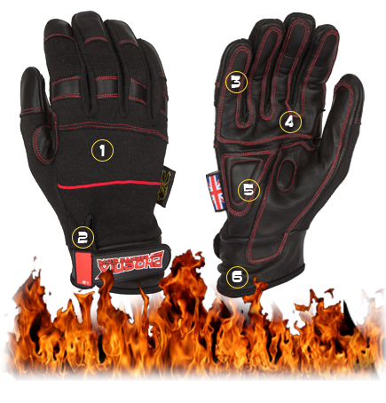 Dirty Rigger Phoenix Gloves (Large)