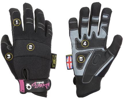 Dirty Rigger XS Ladies Gloves (Small)